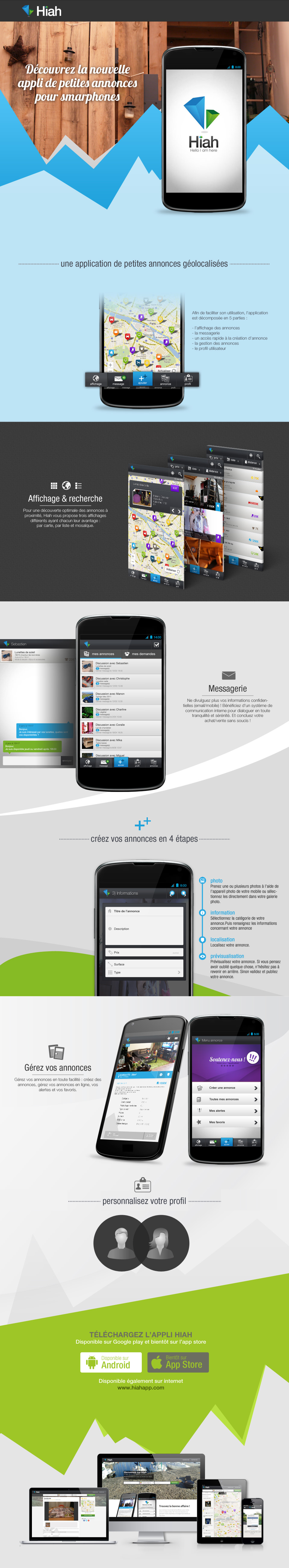 Hiah - Application mobile/web
